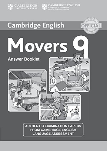 Cambridge Young Learners English Tests Movers 9 Answer Booklet