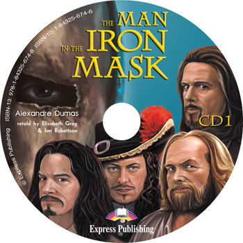 Graded Readers Level 5 The Man in the Iron Mask Audio CDs (set of 2)