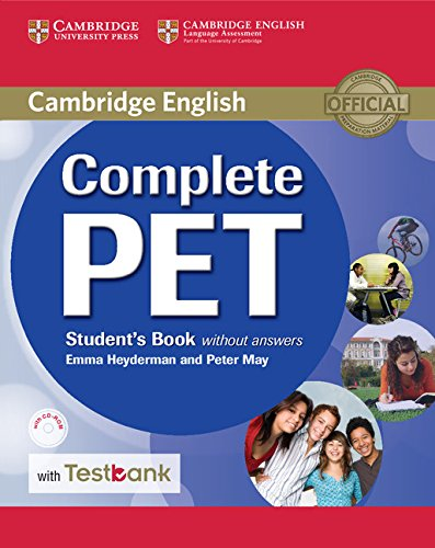 Complete PET Student's Book without answers with CD-ROM with Testbank