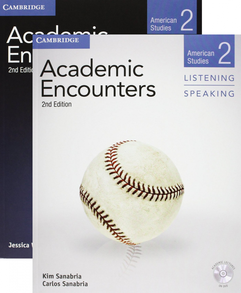 Academic Encounters 2nd Edition Level 2: American Studies - 2-Book Set (Student's Book Reading and W
