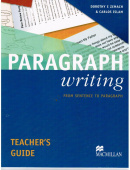 Paragraph Writing Teachers Guide