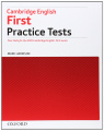 Cambridge English First Practice Tests (For the 2015 Cambridge English: First Exam)