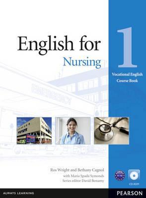 Vocational English Level 1 (Elementary) English for Nursing Coursebook (with CD-ROM)