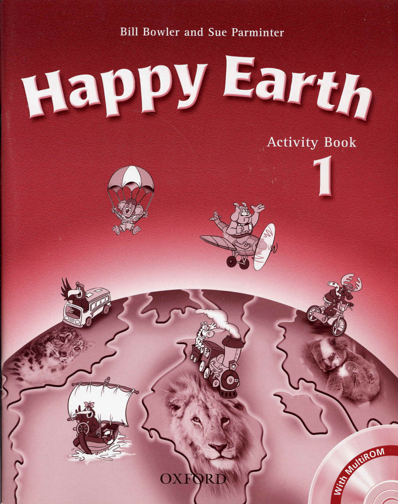 Happy Earth 1 Activity Book and Multi-ROM Pack