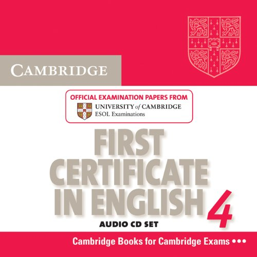 Cambridge First Certificate in English 4 for Updated Exam Audio CDs (2)