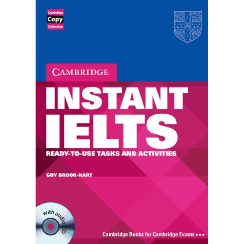 Instant IELTS Book and Audio CD Pack