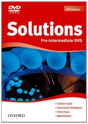 Solutions Second Edition Pre-Intermediate DVD