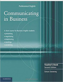 Communicating in Business Second edition Teacher's Book