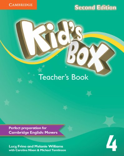 Kid's Box Second Edition 4 Teacher's Book