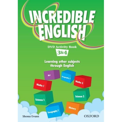 Incredible English 3 & 4 DVD Activity Book