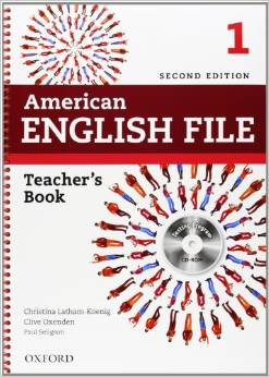 American English File Second edition Level 1 Teacher's Book with Testing Program CD-ROM