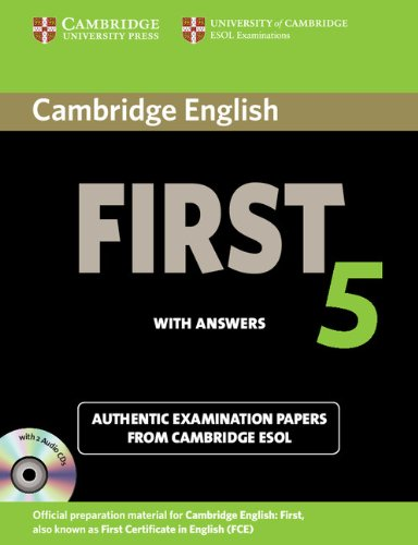 Cambridge English First 5 Self-study Pack