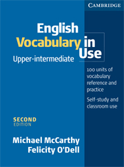 English Vocabulary in Use: Upper-intermediate (Second Edition) Book with answers