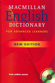 Macmillan English Dictionary for Advanced Learners (New Edition) Hardcover with CD-ROM