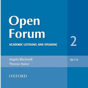 Open Forum 2 Audio CDs (3)