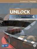 Unlock Listening and Speaking Skills 4 Teacher's Book with DVD
