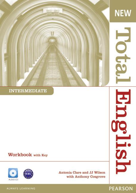 New Total English Intermediate Workbook (with Key) and Audio CD