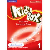 Kid's Box Second Edition 1 Teacher's Resource Book with Online Audio