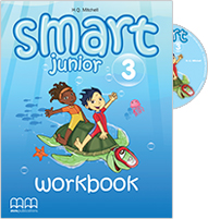 Smart Junior 3 Workbook with Student's audio CD/CD-Rom