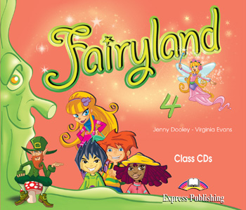 Fairyland 4 Class Audio CDs (set of 4)