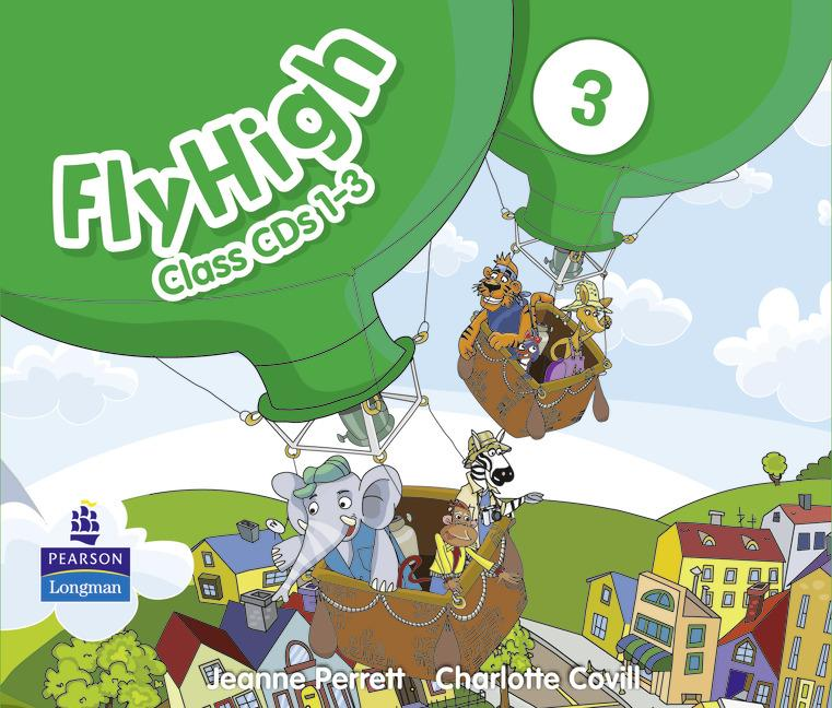 Fly High 3 Class Audio CDs (3) (Лицензия)