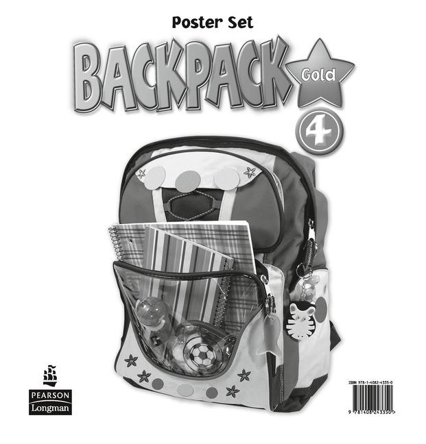 Backpack Gold Level 4 Posters
