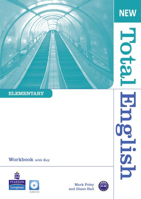 New Total English Elementary Workbook (with Key) and Audio CD