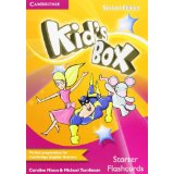 Kid's Box Second Edition Starter Flashcards (Pack of 78)