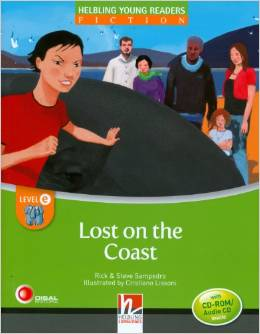 Helbling Young Readers Level E: Lost on the Coast with CD-ROM/Audio CD