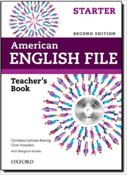 American English File Second edition Starter Teacher's Book with Testing Program CD-ROM