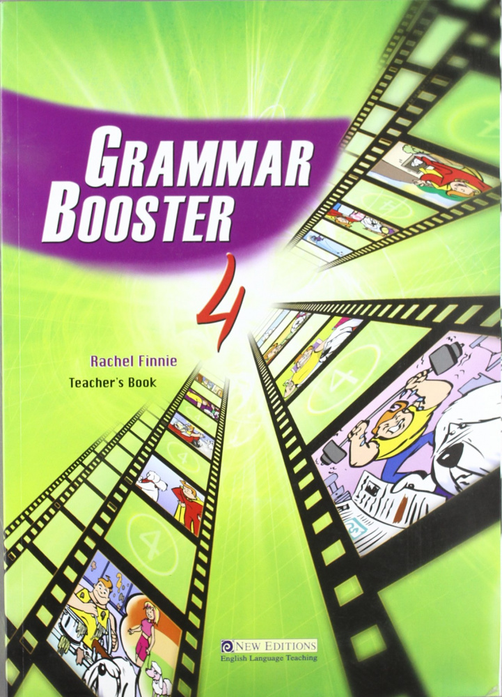 Grammar Booster 4 Teacher's Book with CD-ROM