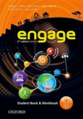 Engage 2nd Edition 1 Student Book and Workbook with MultiROM