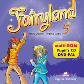 Fairyland 5 multi-ROM (Pupil's Audio CD / DVD Video PAL)