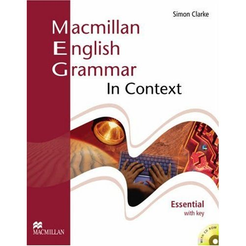 Macmillan English Grammar In Context Essential Student's Book (+ Key) CD-ROM Pack