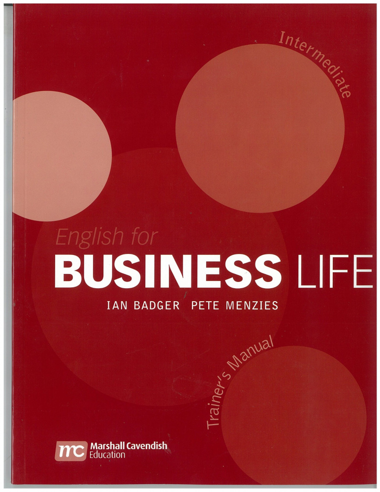 English for Business Life Intermediate Teacher's Manual
