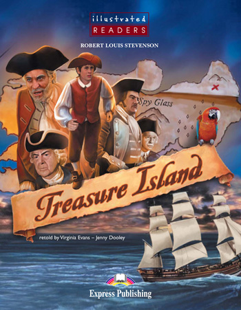 Illustrated Readers Level 2  Treasure Island
