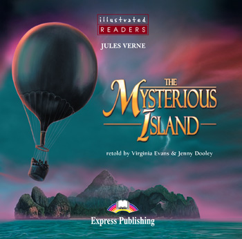 Illustrated Readers Level 2  The Mysterious Island Audio CD