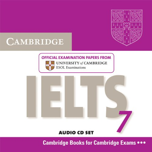 Cambridge IELTS 7 Audio CDs (Лицензия)
