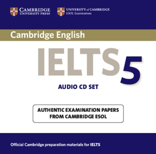Cambridge IELTS 5 Audio CDs (Лицензия)
