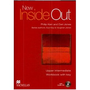 New Inside Out Upper-Intermediate Workbook with key + Audio CD Pack