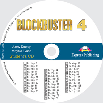 Blockbuster 4 Student's Audio CD