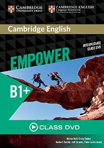 Cambridge English Empower Intermediate Class DVD