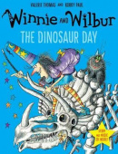 Winnie and Wilbur: The Dinosaur Day (Paperback + CD)
