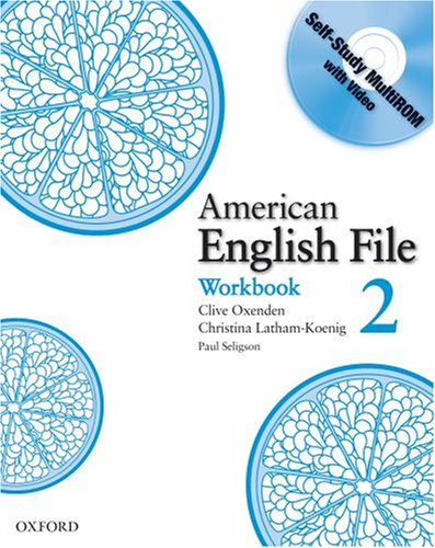 American English File 2 Workbook with MultiROM