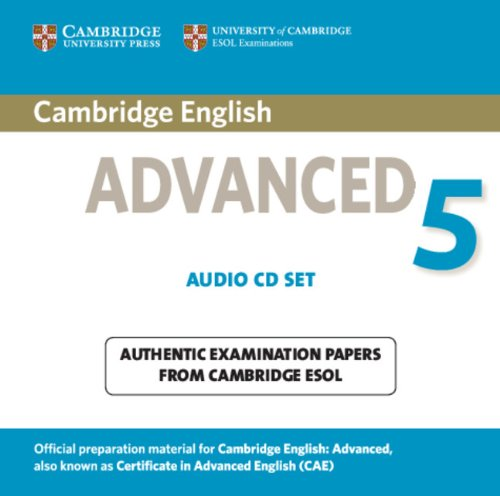 Cambridge English Advanced 5 Audio CDs (2) (Лицензия)