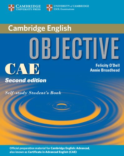 Objective CAE (Second Edition) Self-study Student's Book