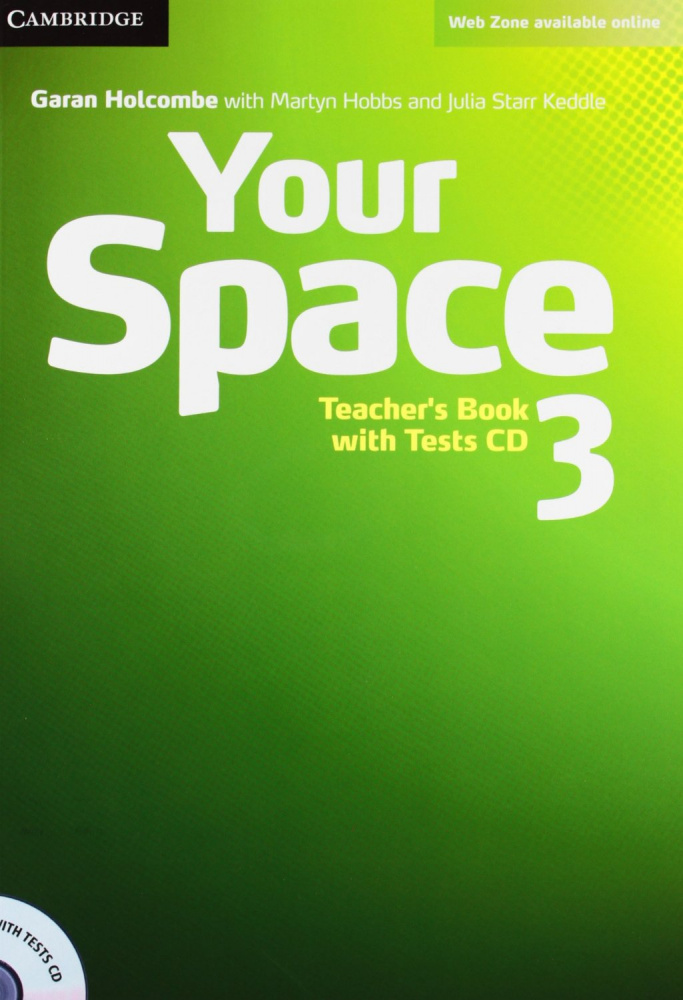 Your Space 3 Teacher's Book with Tests CD