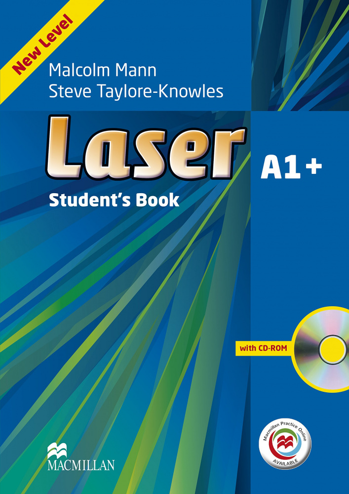 Laser Third Edition A1+ Student's Book and CD ROM Pack + MPO