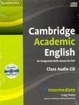 Cambridge Academic English B1+ Intermediate Class Audio CD and DVD Pack: An Integrated Skills Course for EAP