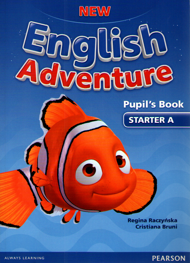 New English Adventure Starter A Pupil's Book and DVD Pack